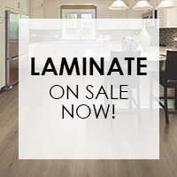 Save on laminate flooring this month only!